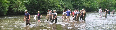 Rivers Conservation and Fly Fishing Youth Camp