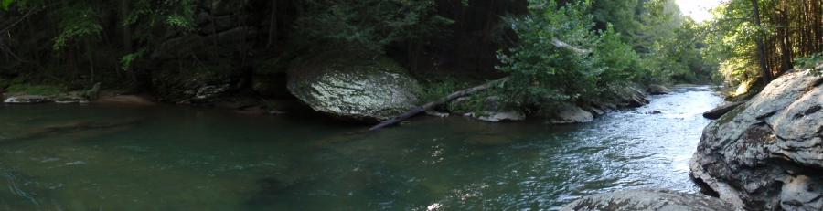 Muddy Creek Panorama