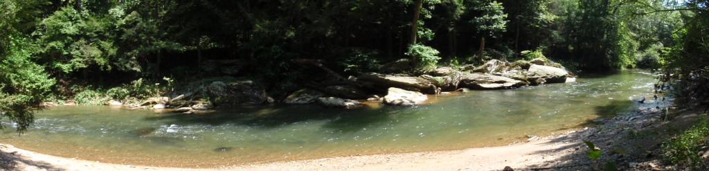 Muddy Creek Panorama 2