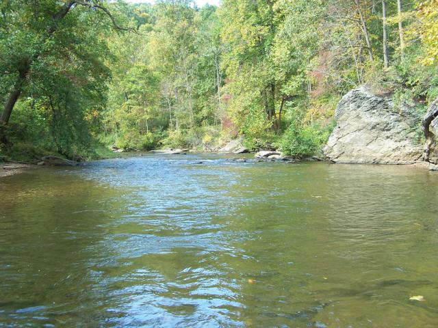 Big Rock Hole, Muddy Creek