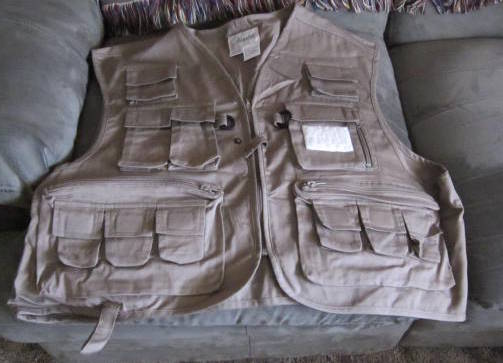 New Ausable Vest size XXL