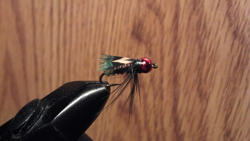 Second attempt at tying.