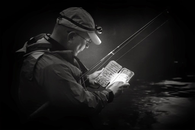 night fly fishing