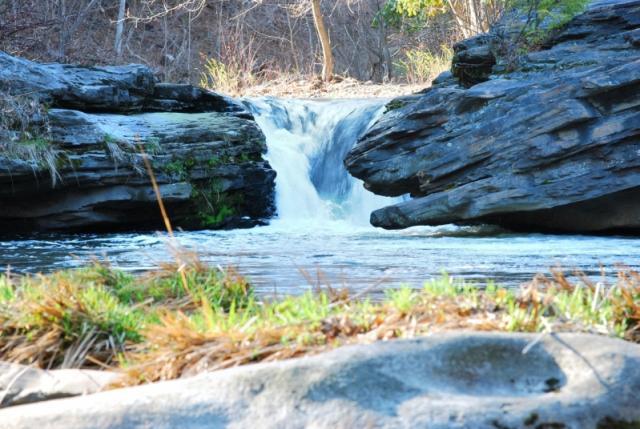 Fishing the Falls (Left Side)