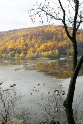 Susquehanna form overlook at Lancaster Co.