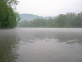 Youghiogheny River Pool In Mist