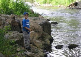 My Son on the Little Lehigh