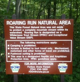 Natural Area Regulations