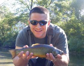Male Wild Brook Trout