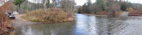 Babb Creek Crossing Panorama