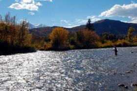 Roaring Fork River, CO.