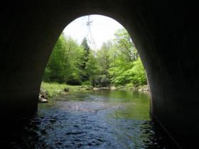 Hayes Creek tunnel