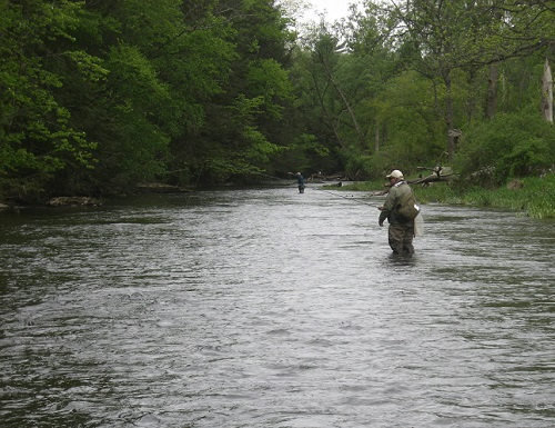 Afishinado on Penns Creek